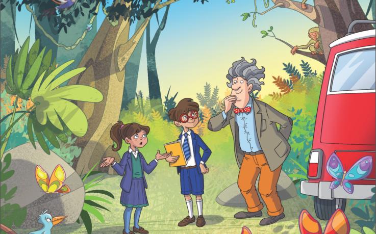 قصة قصيرة بالانجليزي للاطفال