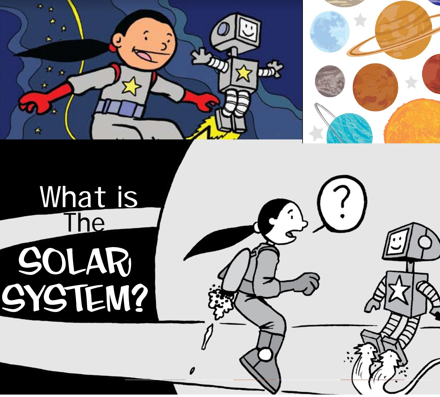 كواكب المجموعة الشمسية للاطفال
