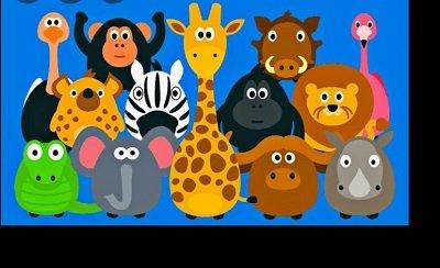 كتاب تعليم الأطفال الحيوانات