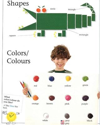 قاموس مصور باللغة الانجليزية للاطفال