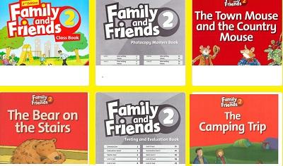 تحميل كتاب Family and Friends 2