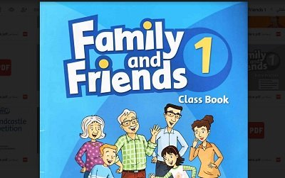 تحميل كتاب Family and Friends 1 pdf