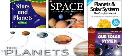 كتب عن الفضاء باللغة الانجليزية